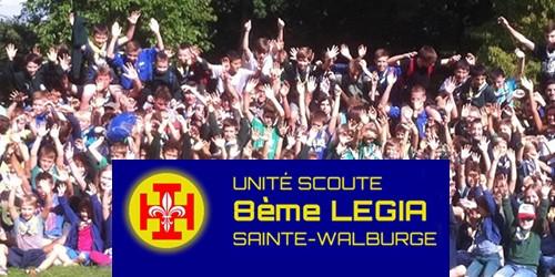 image: Unité scoute 8ème Légia Sainte-Walburge
