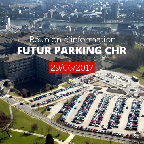 image: Futur parking du CHR: Réunion pré-étude d'incidence