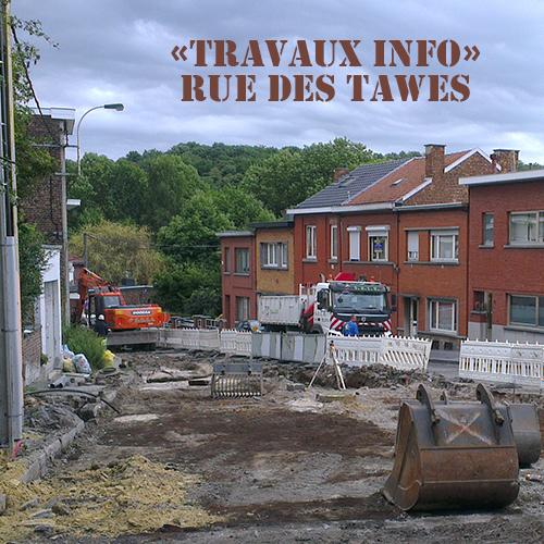 image: «Travaux info» Rue des Tawes juillet 2017